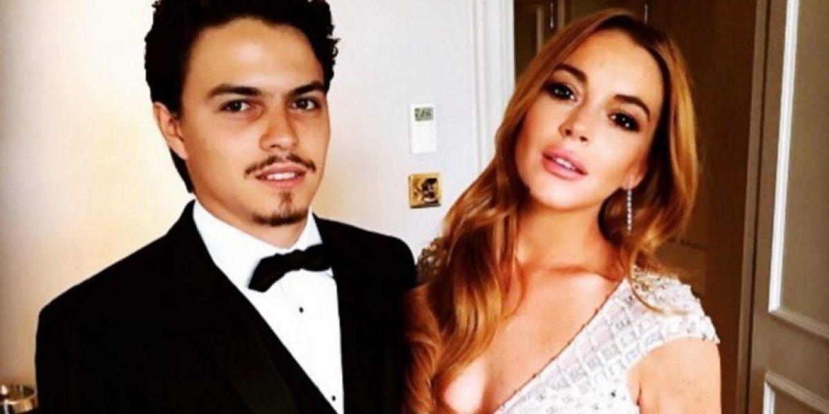 Lindsay Lohan publica foto íntima con su novio
