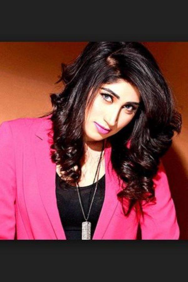 En las redes sociales era conocida por Qandeel Baloch. Foto:Facebook. Imagen Por: