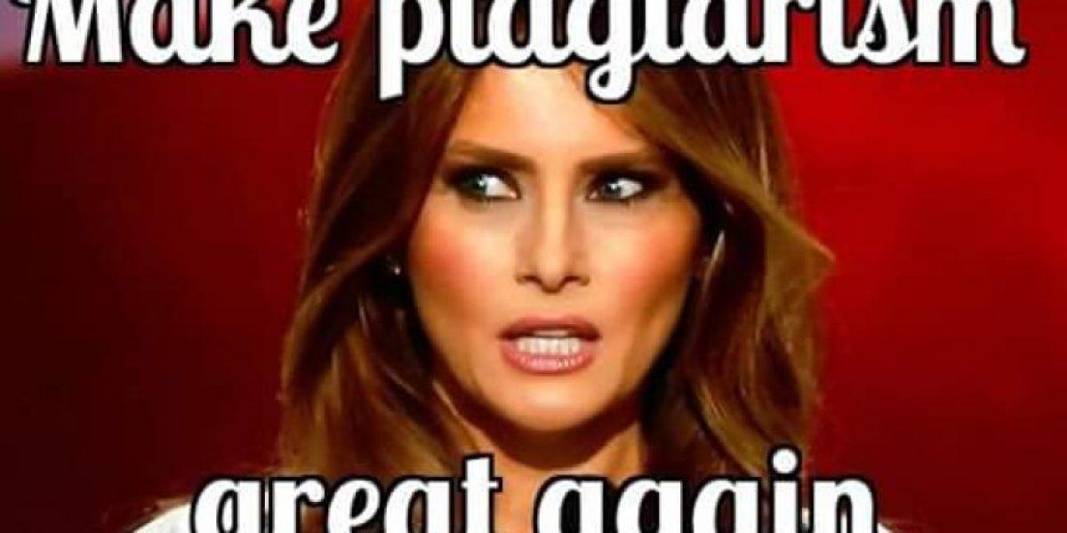 Los mejores memes sobre el plagio de Melania Trump