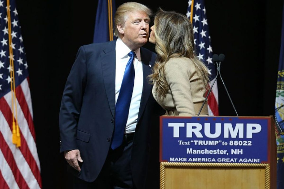 Y podría ser la primera dama de Estados Unidos en caso de que gane Trump la presidencia Foto:Getty Images. Imagen Por: