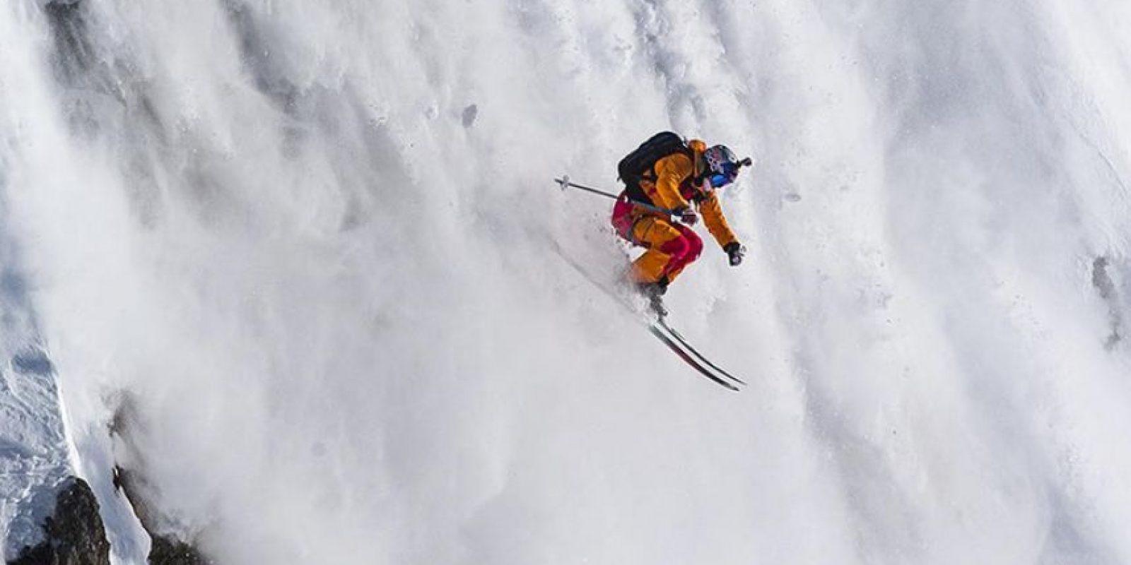 La campeona mundial sueca fue aplastada por una avalancha en la Cordillera de Los Andes, en Chile Foto:Vía instagram.com/matildarapaport. Imagen Por: