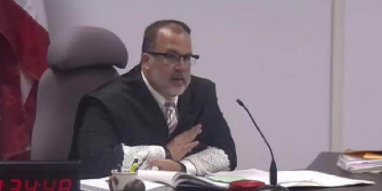 Juez Rebollo Casalduc. Foto:captura de pantalla. Imagen Por: