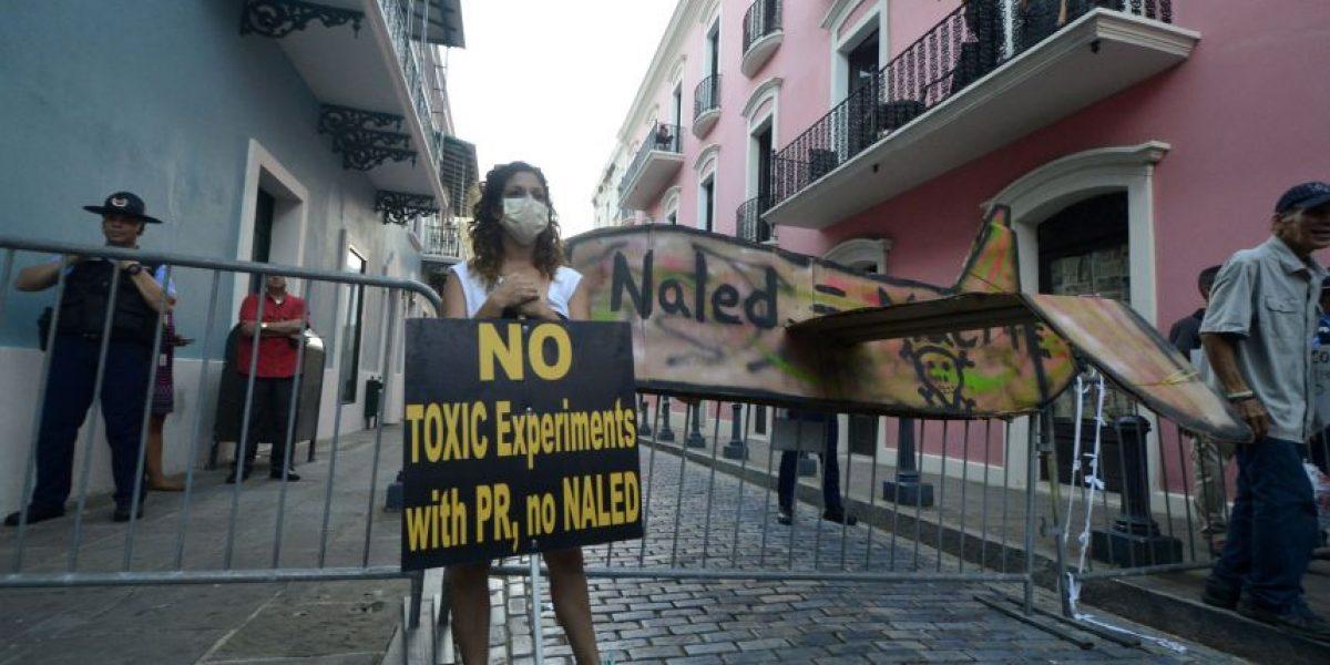 Presencia del Naled en P.R. provoca marchas y demandas