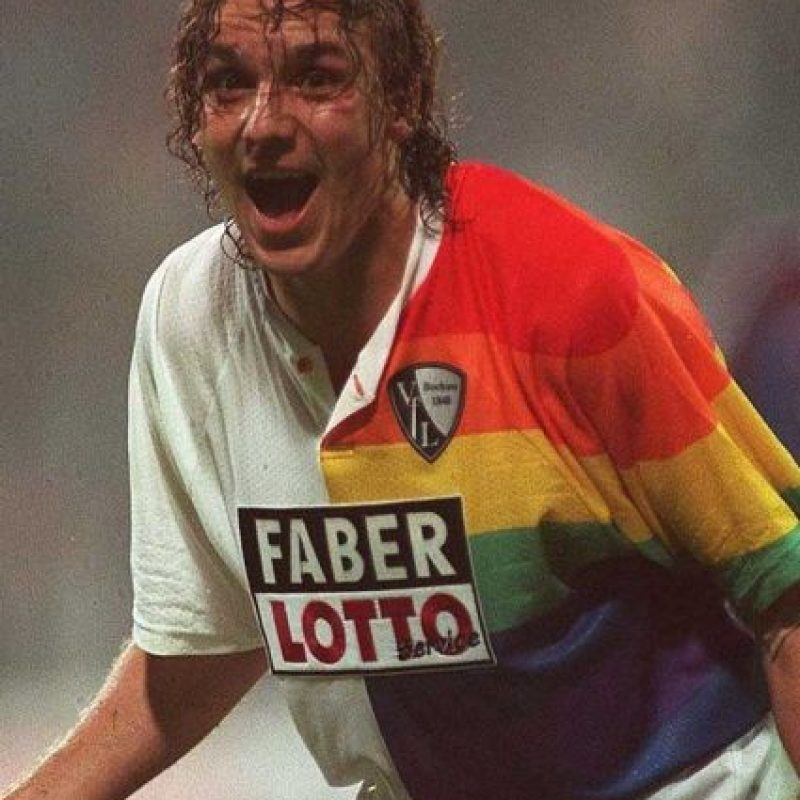 El Bochum de Alemania le apostó al arcoiris. Foto:Getty Images. Imagen Por: