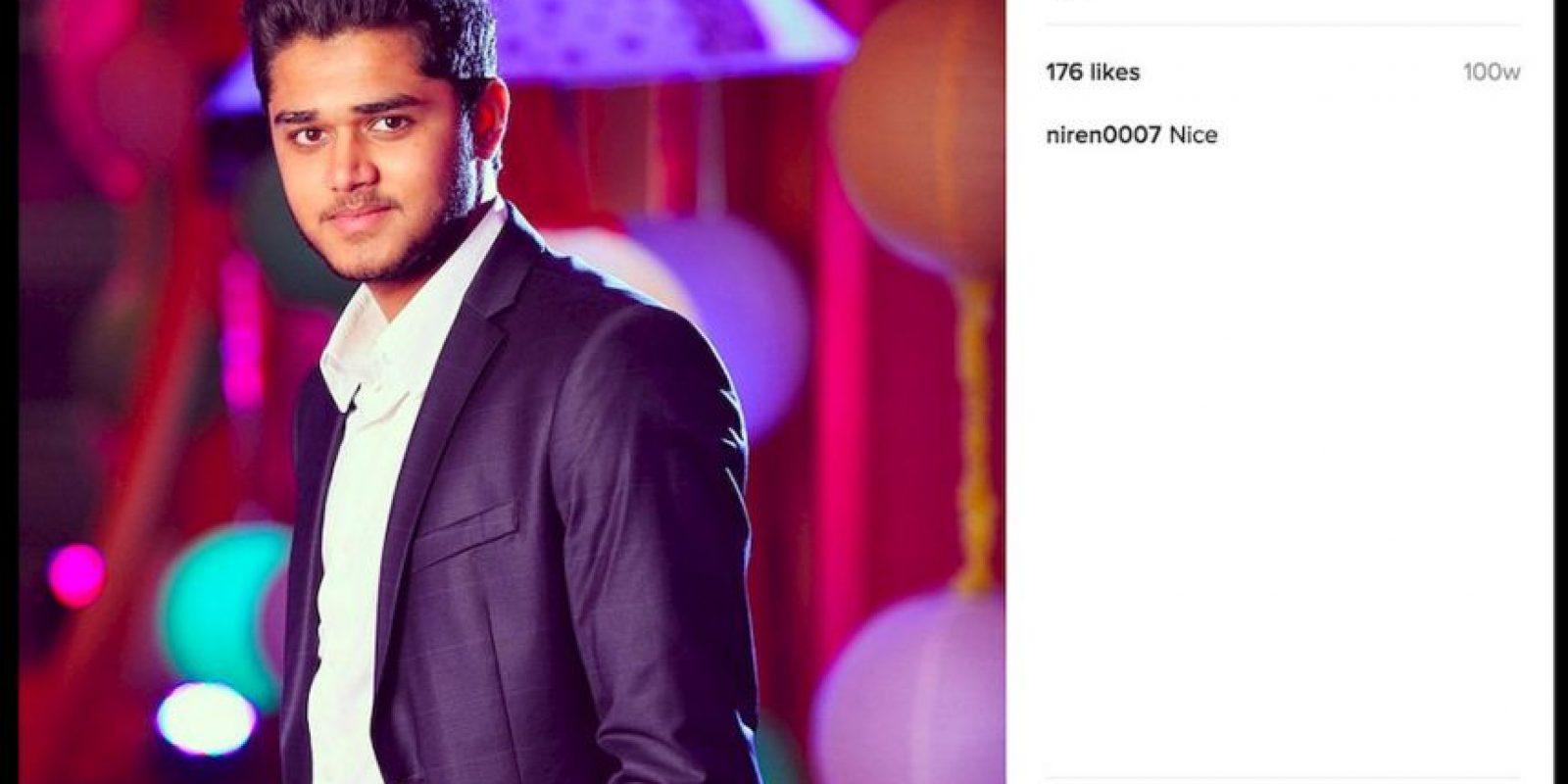 """Dravya Dholakia es un joven millonario de la India que por un mes vivió como un """"hombre común"""" a petición de su padre. Foto:Instagram/dravyadholakia. Imagen Por:"""