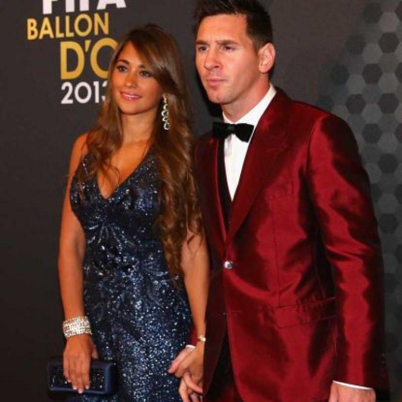 Un año antes, en 2014, el argentino también llamó la atención por su vestuario en el Balón de Oro. Foto:Getty Images. Imagen Por: