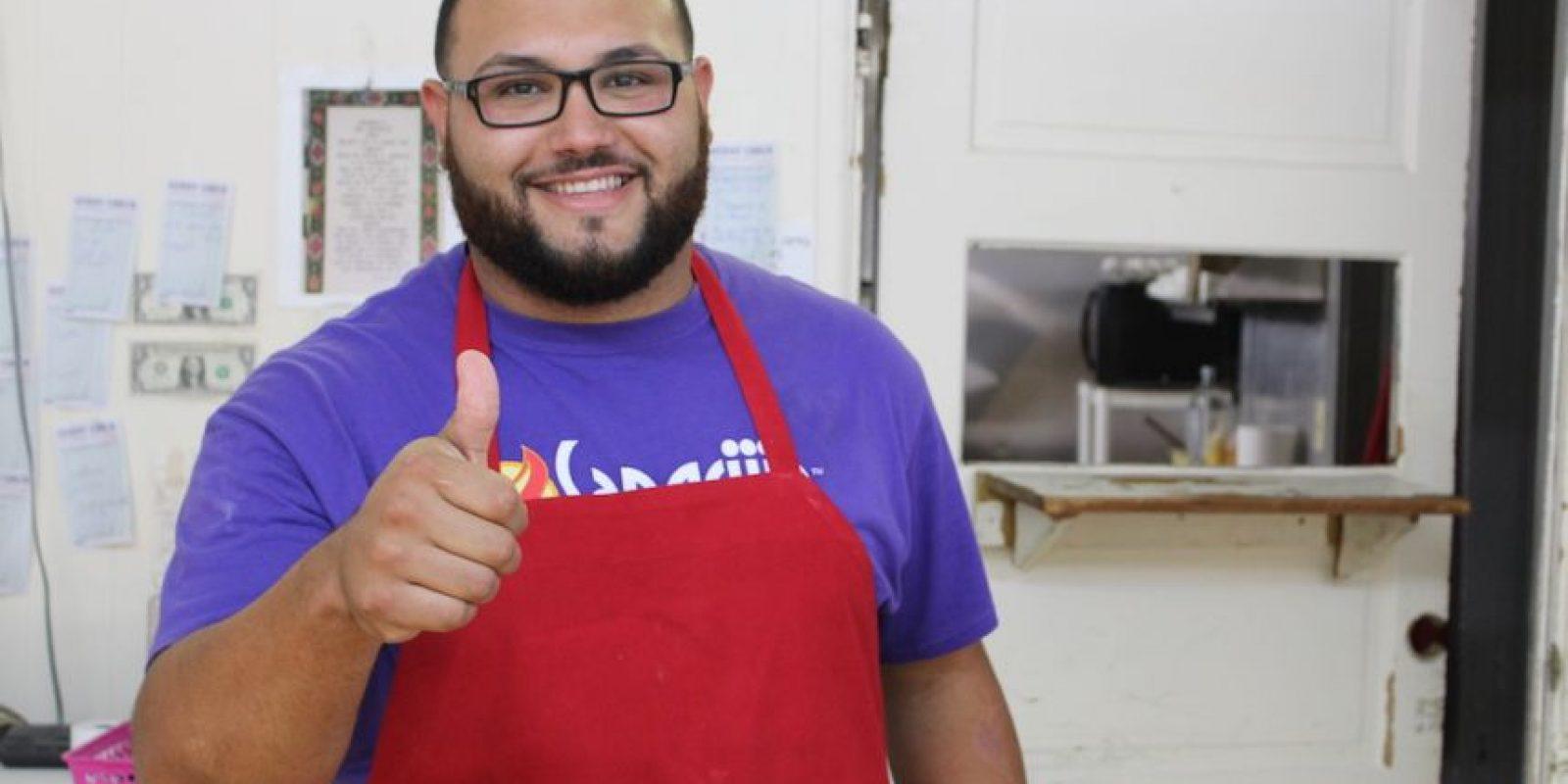 """Manuel """"Lito"""" Vázquez Vallejo es natural de Ponce y se mudó a Cleveland hace dos años y medio. Foto:David Cordero. Imagen Por:"""
