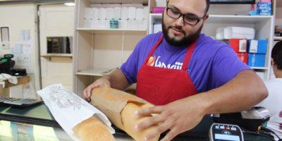 """""""Nada como mi Puerto Rico, pero acá hay mejores trabajos, mejores oportunidades"""", sostuvo. Foto:David Cordero. Imagen Por:"""
