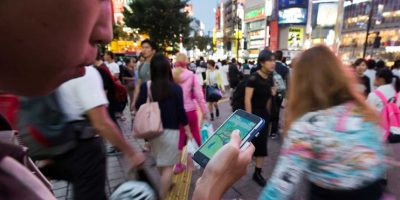 """Así se vive la fiebre por """"Pokémon Go"""" en Japón. Foto:Getty Images. Imagen Por:"""