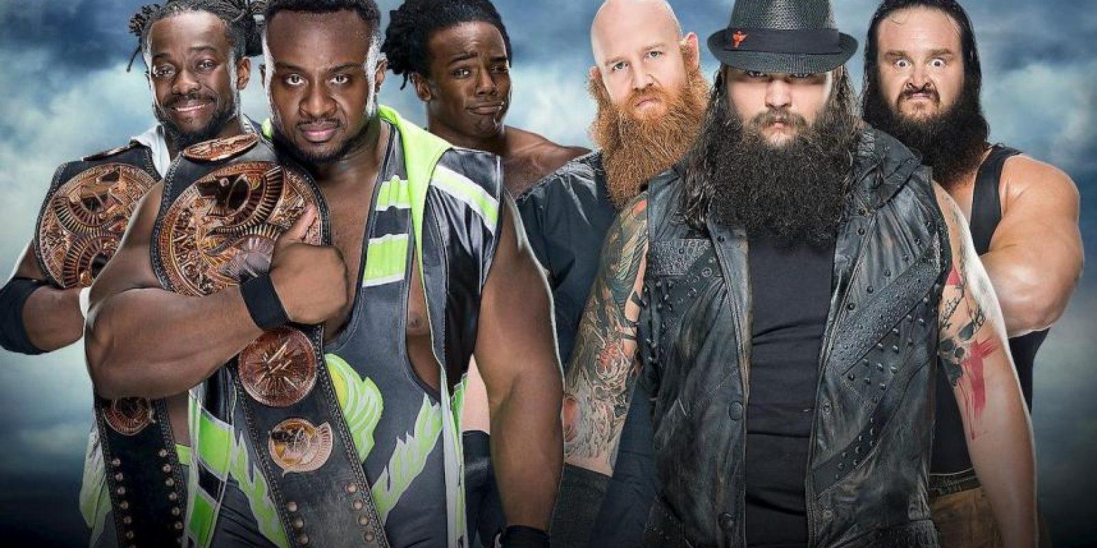 The Wyatt Family venció en una apretada pelea a The New Day. Imagen Por:
