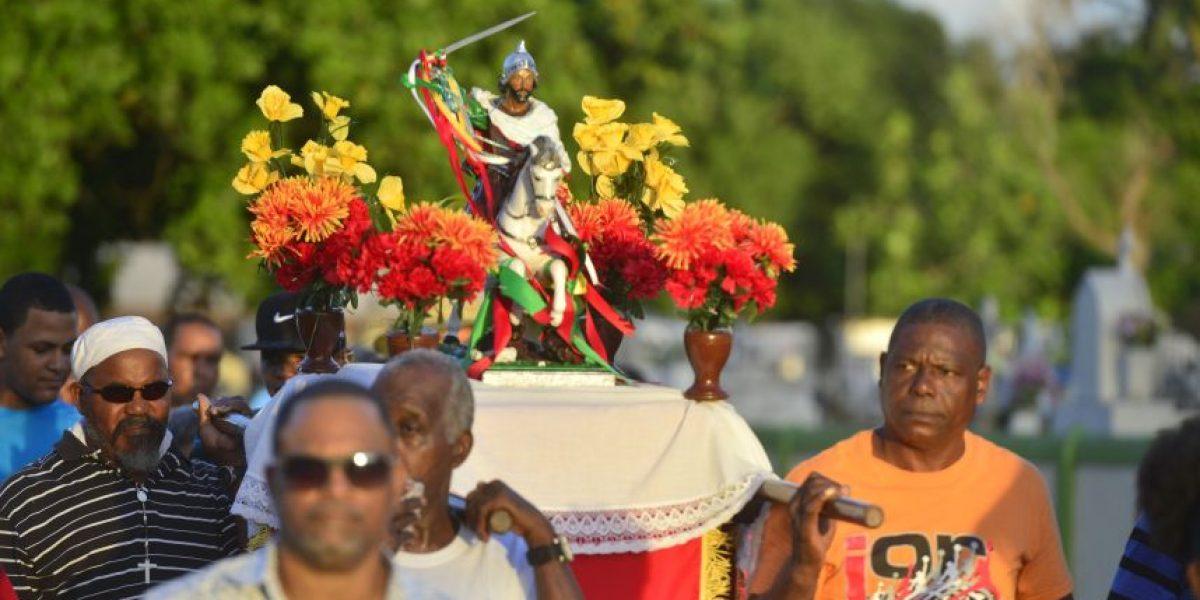 Fotos: Así se vivió la procesión de Santiago de los Hombres en Loíza
