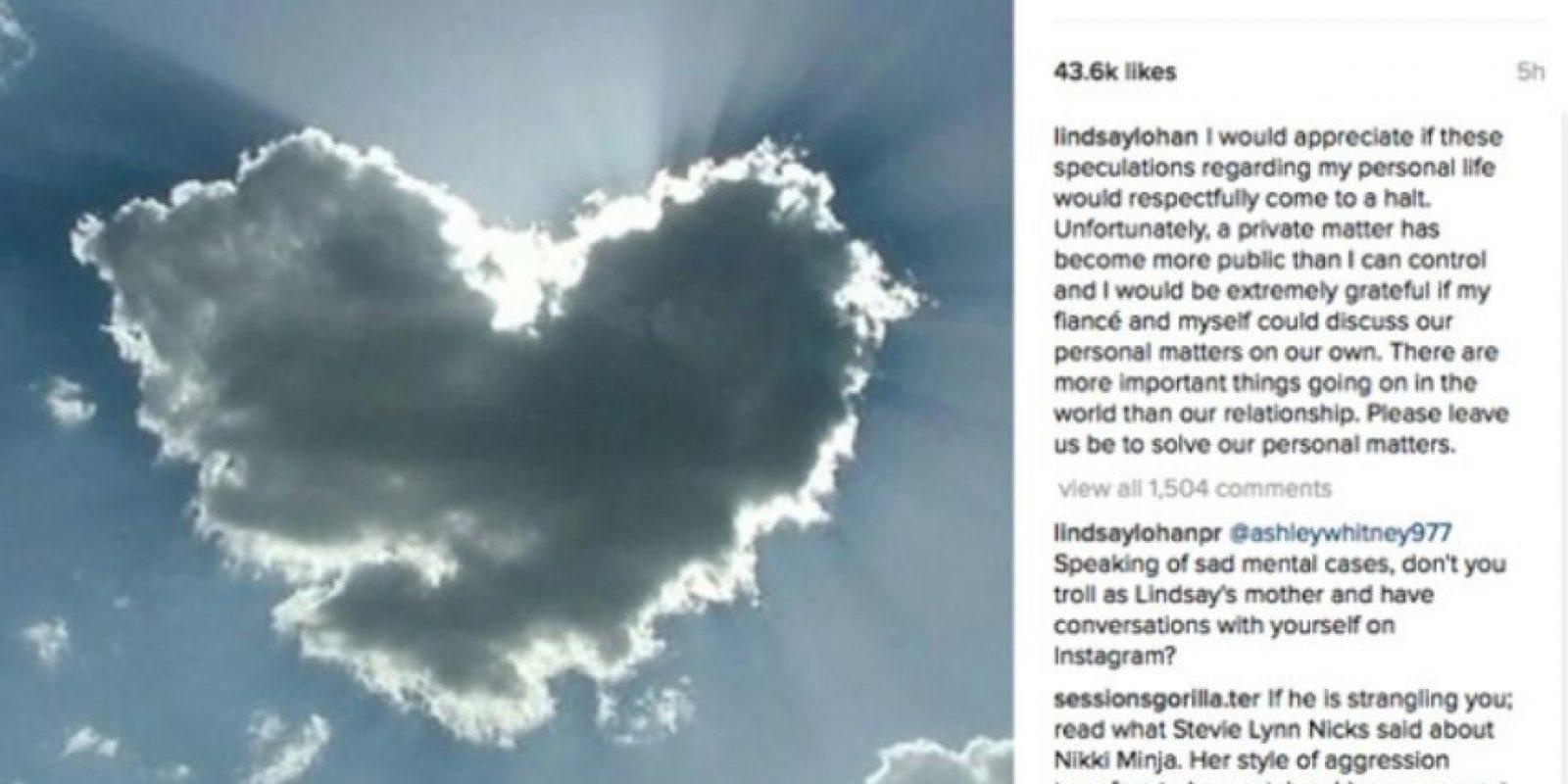 Foto:Instagram/@lindsaylohan. Imagen Por: