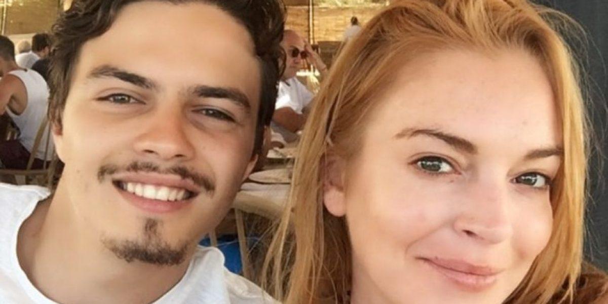 Lindsay Lohan pide privacidad tras gritar y llorar en balcón por Egor