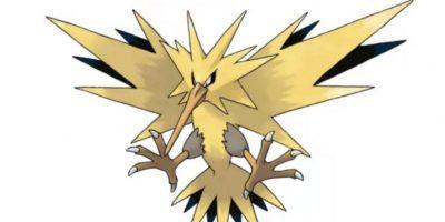 4.- Zapdos, imagen del equipo amarillo y ave legendaria. Foto:Pokémon. Imagen Por: