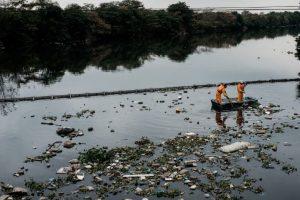 Pues es el lugar donde se realizarán estas competencias, que según estudios tienen altos niveles de contaminación Foto:AFP. Imagen Por: