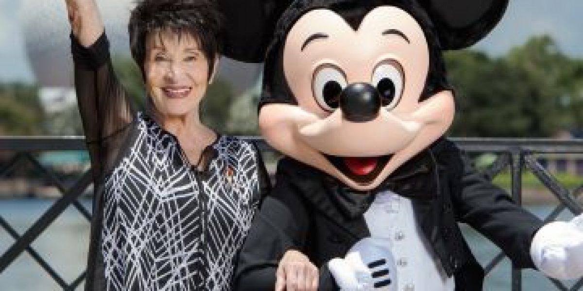 Chita Rivera comparte con Mickey