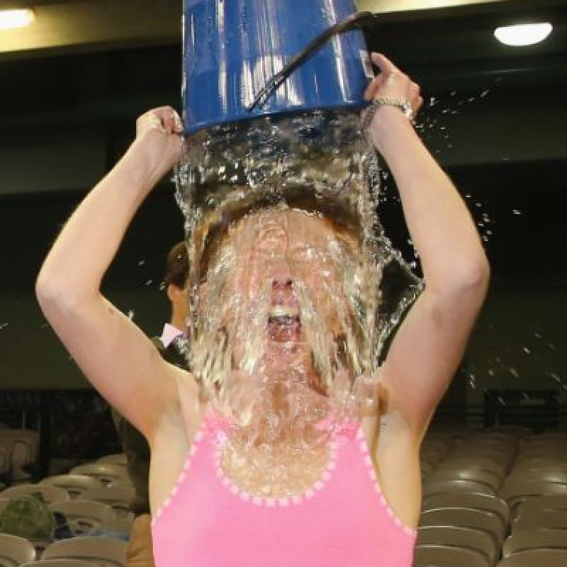 Algunos de los retos #IceBucketChallenge más recordados Foto:Getty Images. Imagen Por: