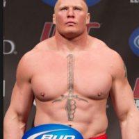 Brock Lesnar dio dos positivos en UFC Foto:WWE. Imagen Por: