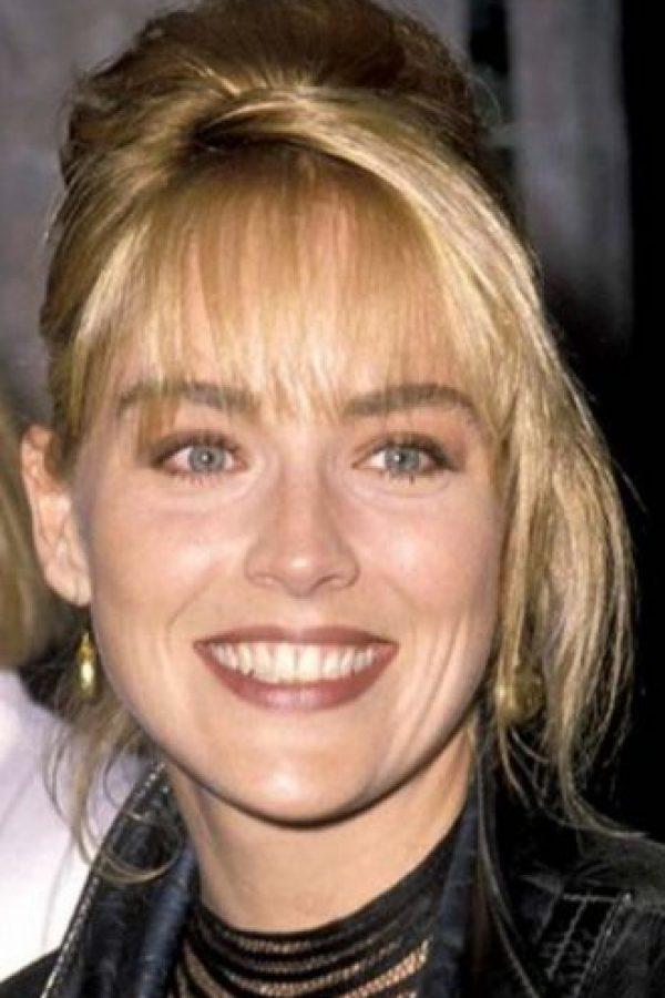 Sharon Stone también era guapa. Foto:vía Getty Images. Imagen Por: