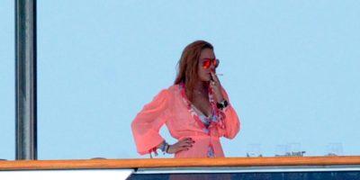 Los paparazzi la captaron fumando Foto:Grosby Group. Imagen Por: