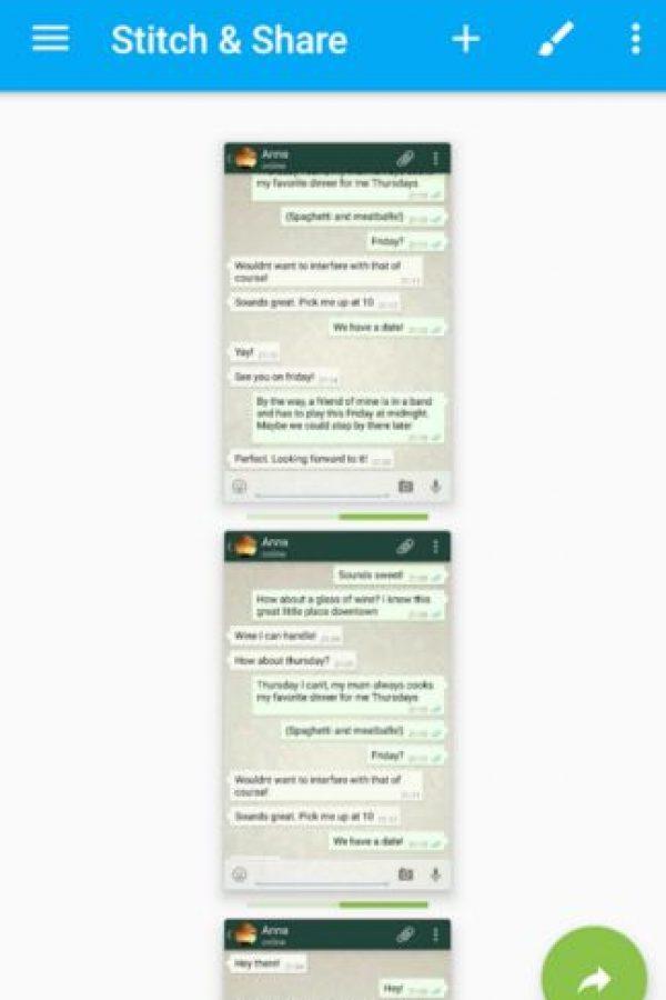 Ahora podrán compartir conversaciones enteras más fácilmente. Foto:Play Store. Imagen Por: