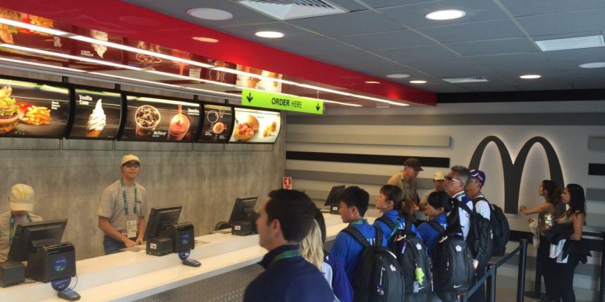 McDonald's abre restaurante oficial en Villa Olímpica en Río