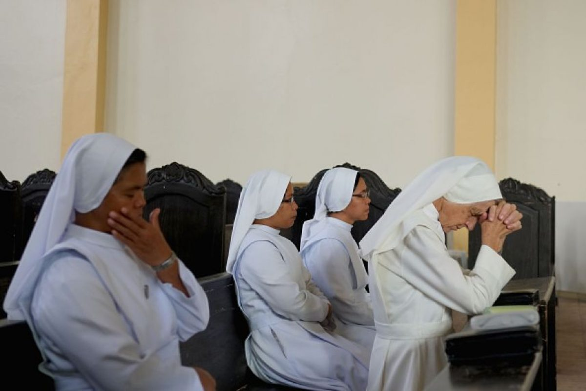 """""""La mujer tiene una especial sensibilidad por las 'cosas de Dios'"""" Foto:Getty Images. Imagen Por:"""