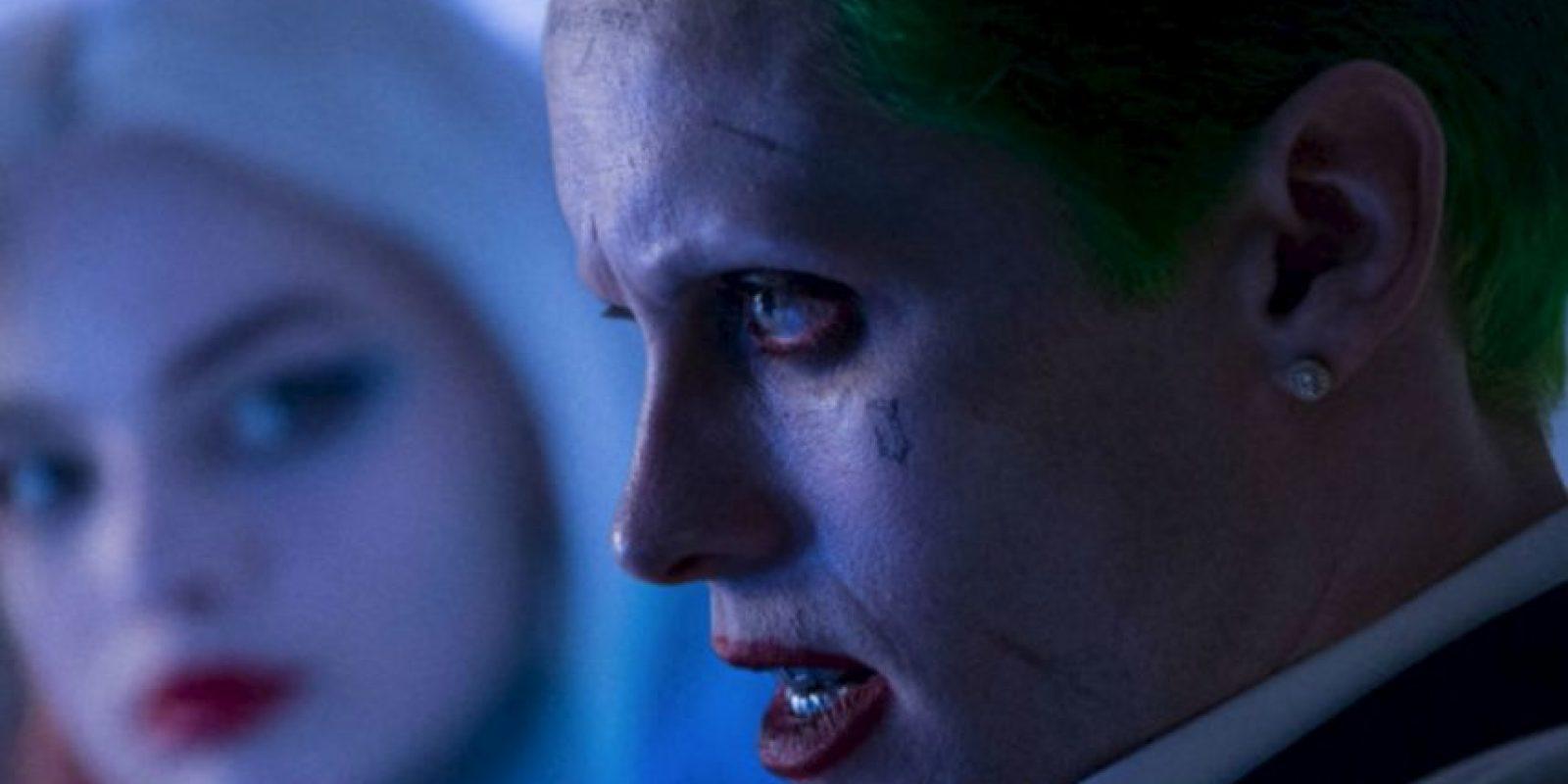 """Y el """"Joker"""" de Leto no ha sido tan referencial. Foto:vía Warner Brothers. Imagen Por:"""