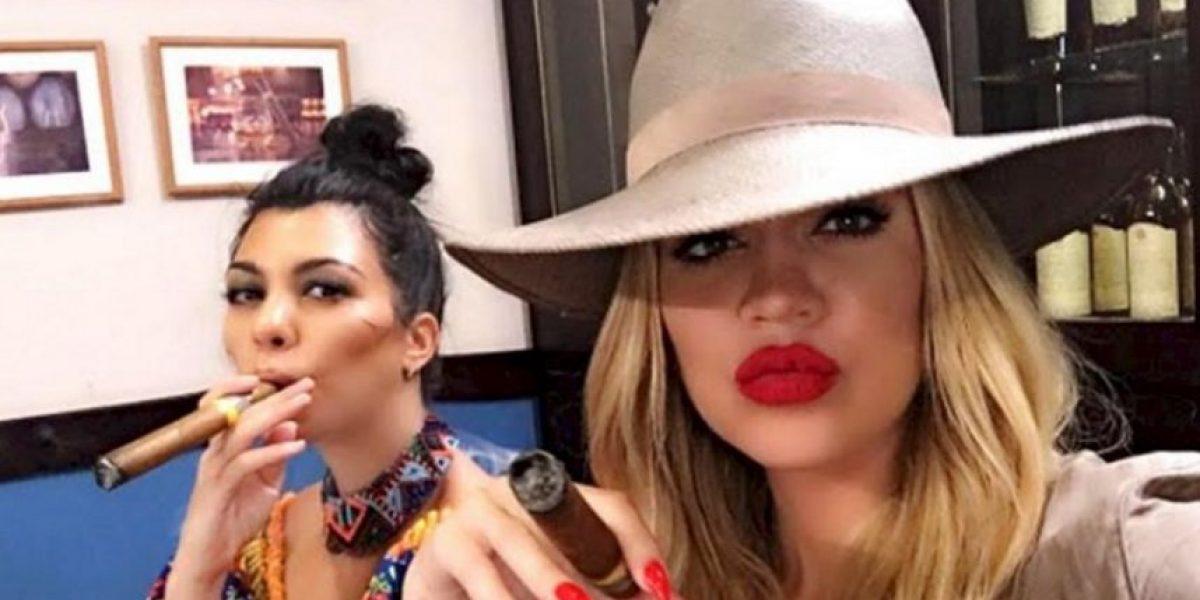 Khloé Kardashian mostró el momento más íntimo de Kourtney