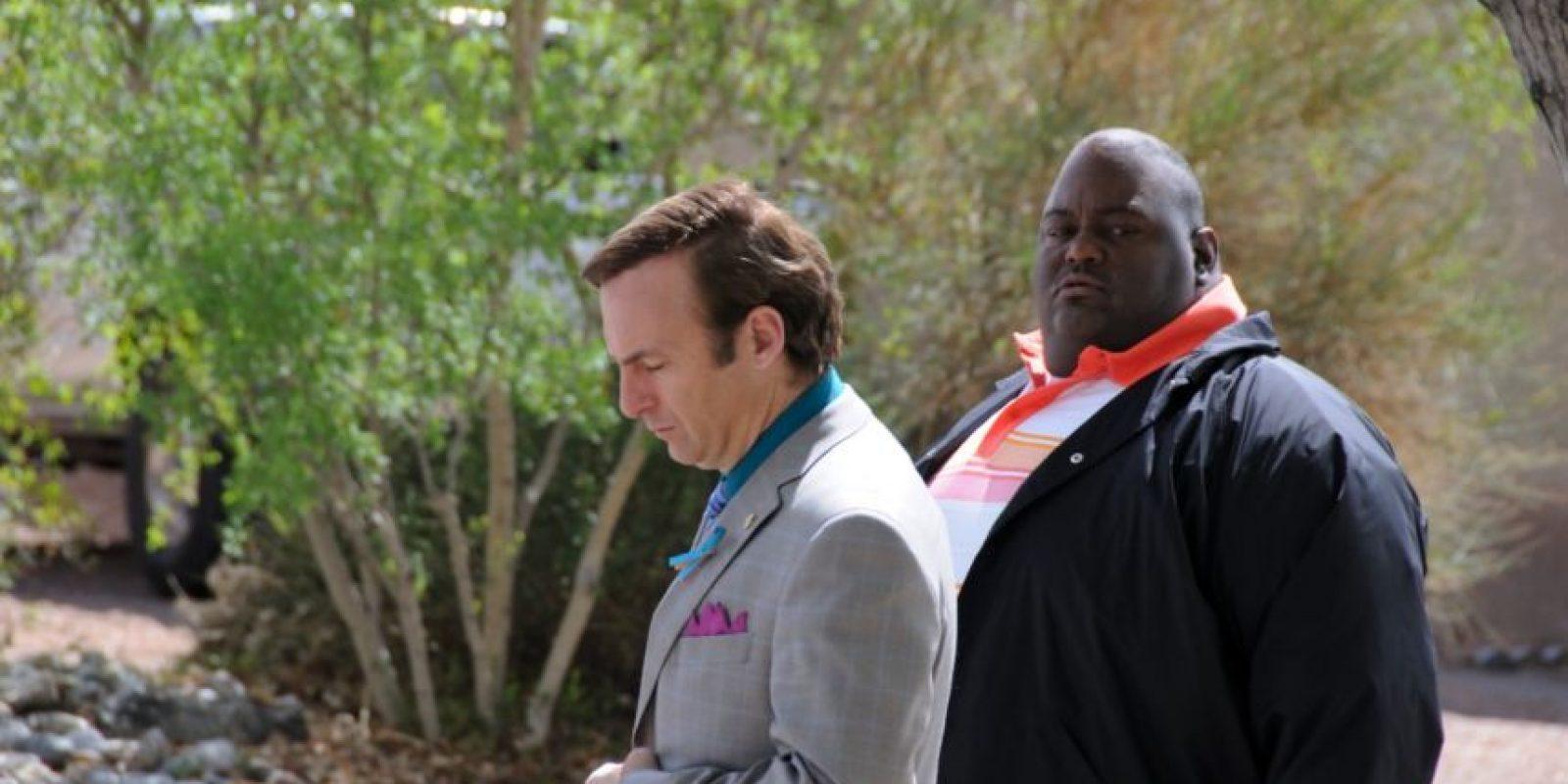 "Interpretó a ""Huell"" en de ""Breaking Bad'"" Foto:AMC. Imagen Por:"