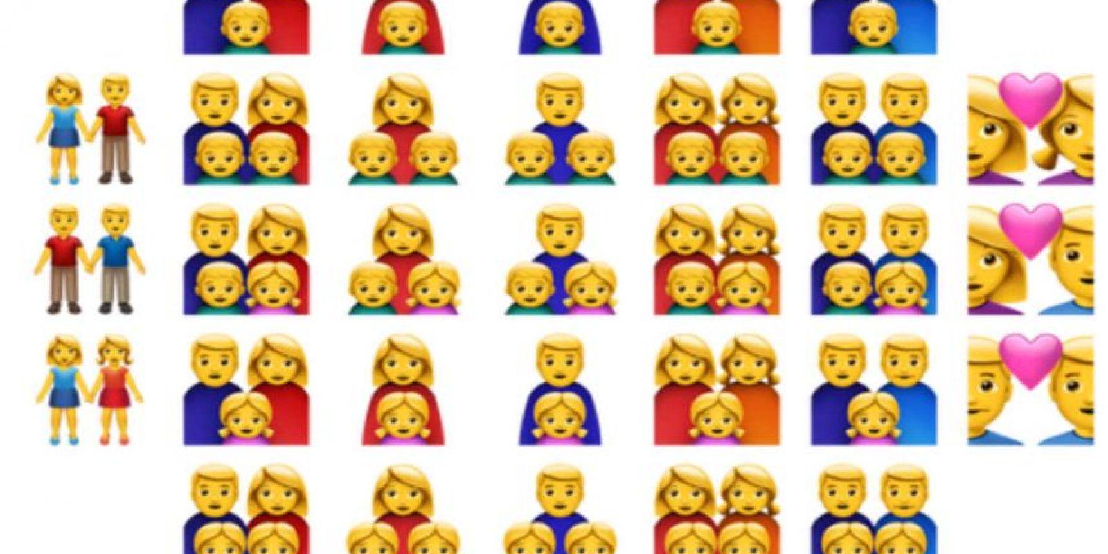 Más diversidad. Foto:Apple. Imagen Por:
