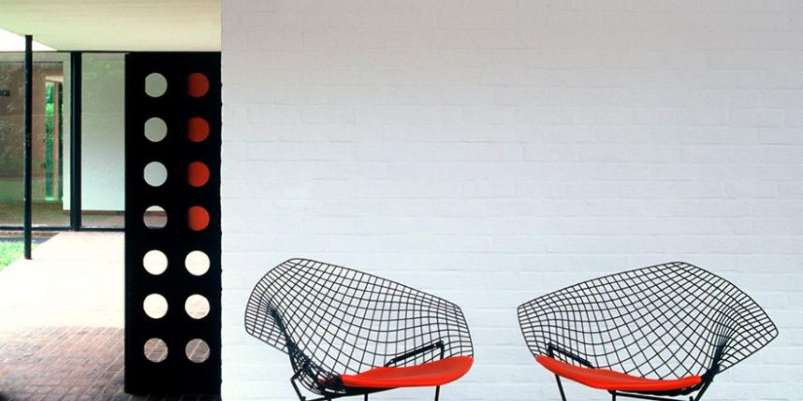 Bertoia Diamond Chair Foto:Knoll. Imagen Por: