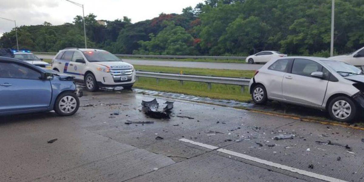 Accidente por vehículo en dirección contraria en Fajardo