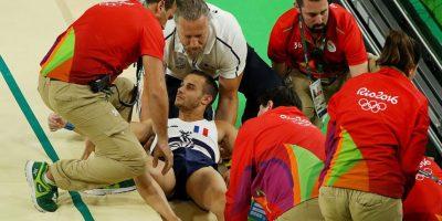 Terrible fractura de gimnasta en Río de Janeiro 2016 Foto:Getty Images. Imagen Por: