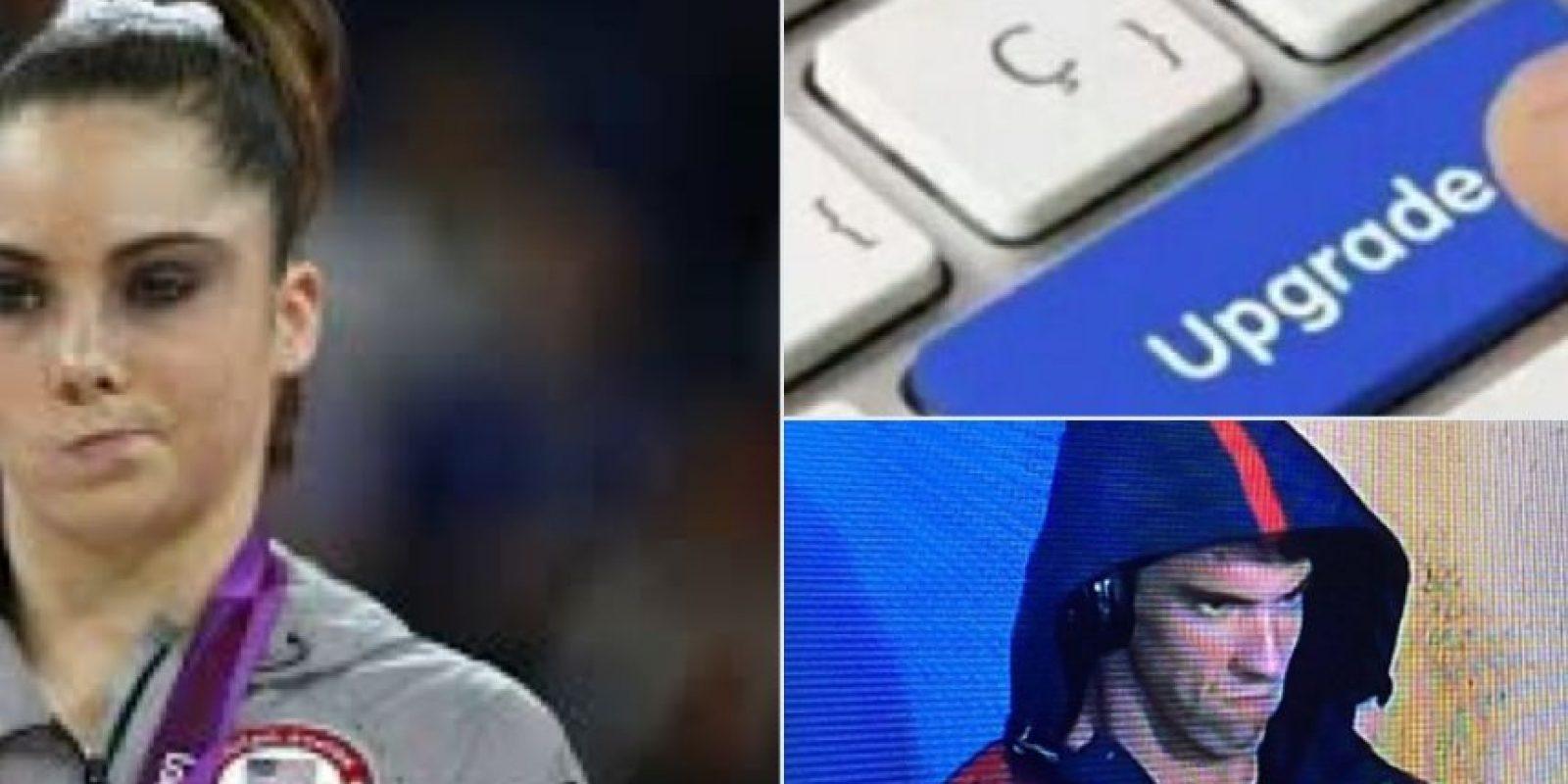 Los mejores memes por la cara de enfado de Michael Phelps. Imagen Por: