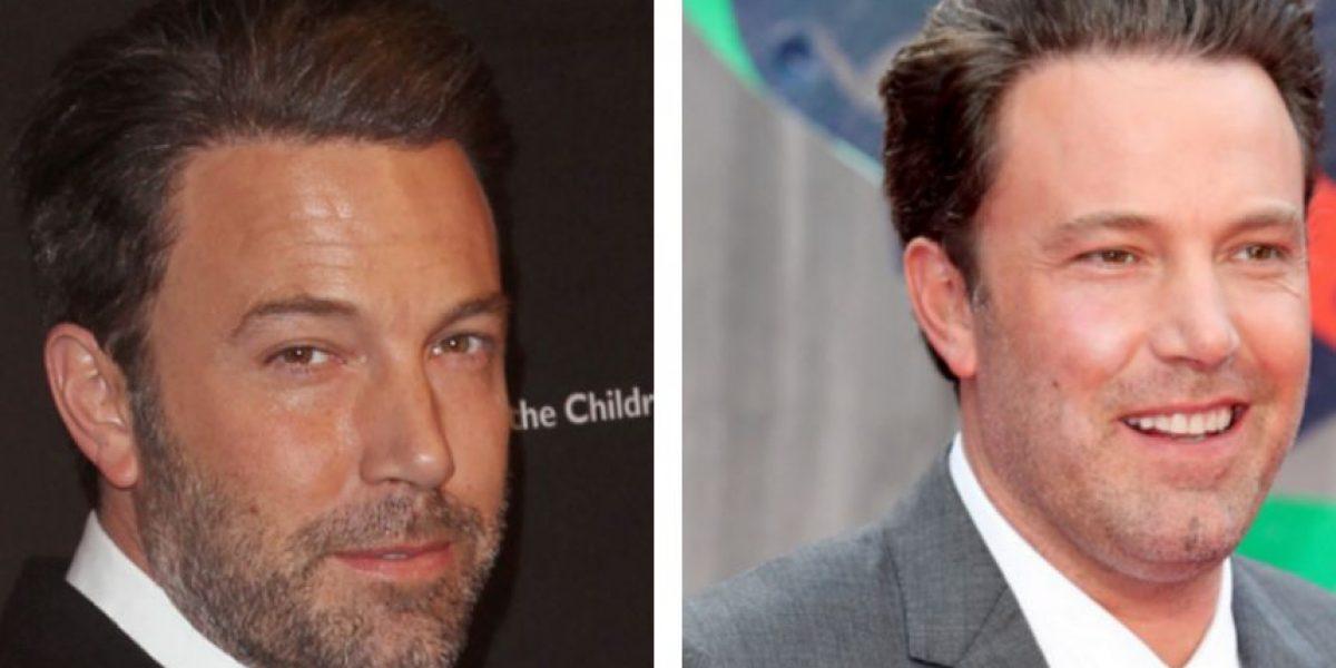 Extraña transformación del rostro de Ben Affleck
