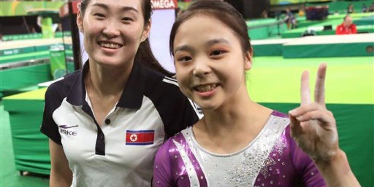 Hasta las selfies olímpicas son complicadas para las coreas