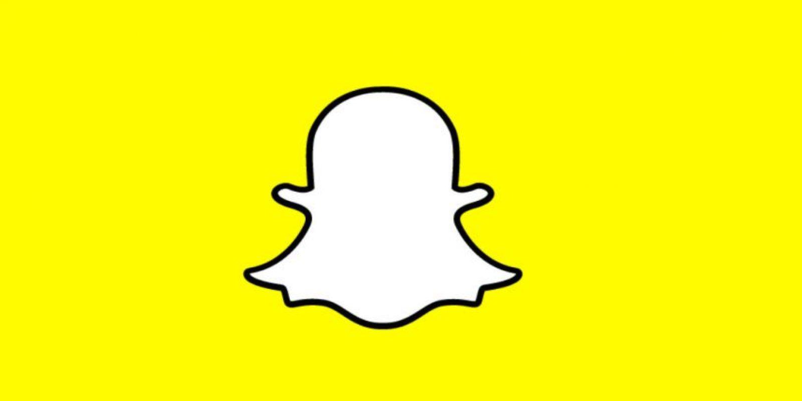 Snapchat está una vez más en el ojo del huracán. Foto:Snapchat. Imagen Por: