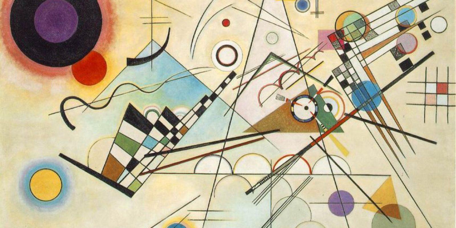 Wassily Kandinsky – Composition VIII – 1923. Imagen Por: