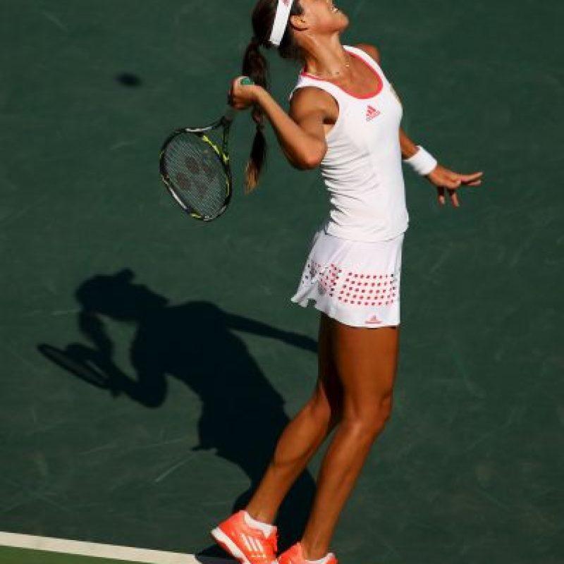 6. La también favorita Ana Ivanovic fue eliminda por Carla Suárez. Imagen Por: