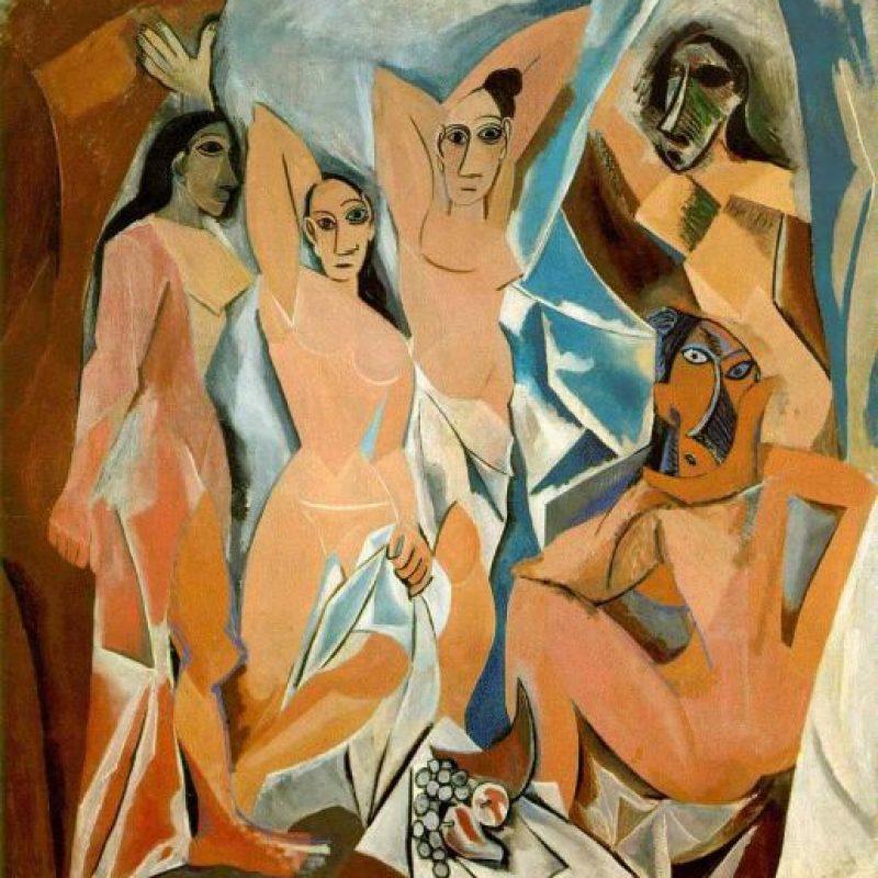 Pablo Picasso – Les Demoiselles d'Avignon – 1907. Imagen Por: