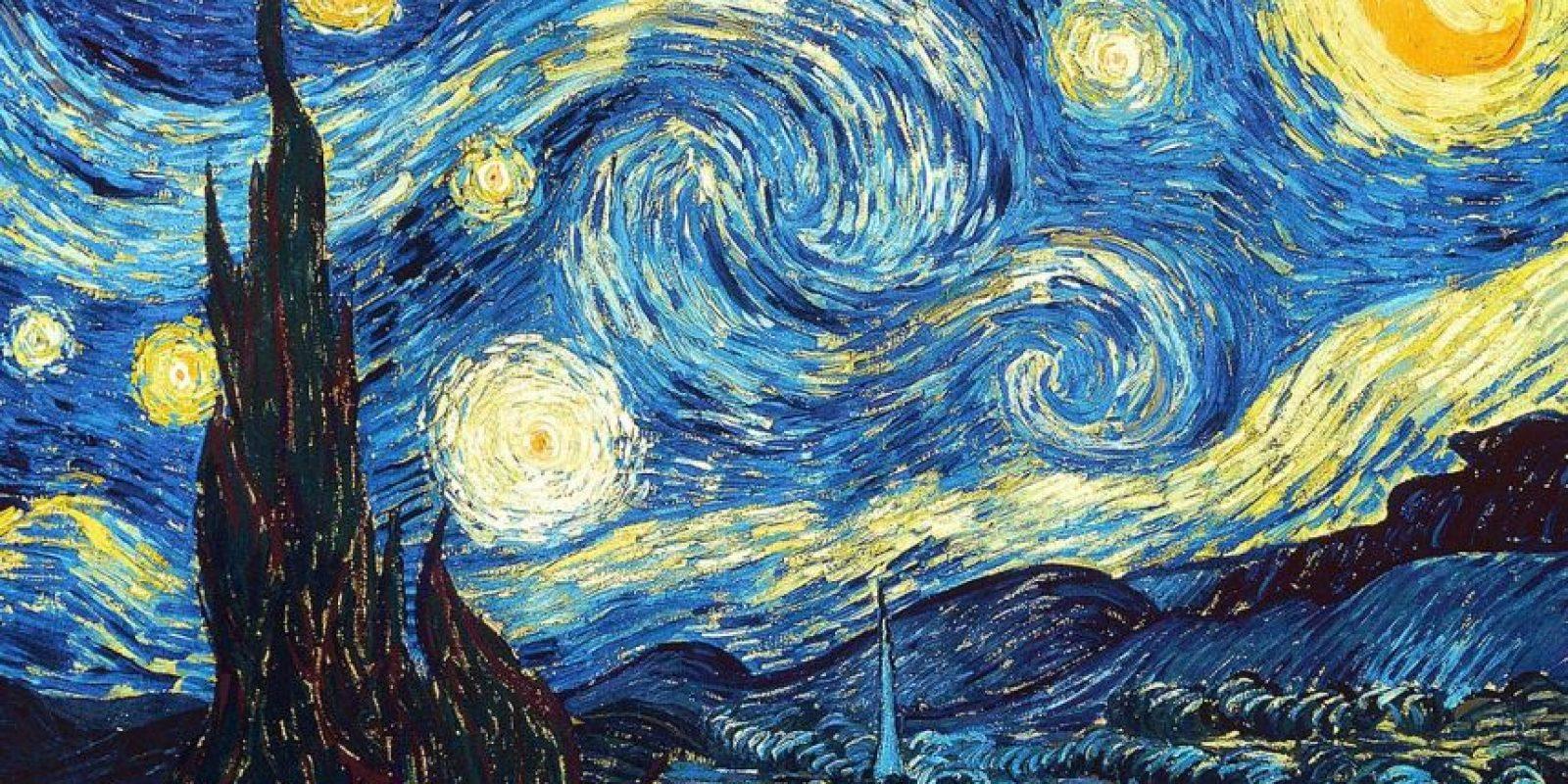 Vincent van Gogh – La Noche Estrellada – 1889. Imagen Por: