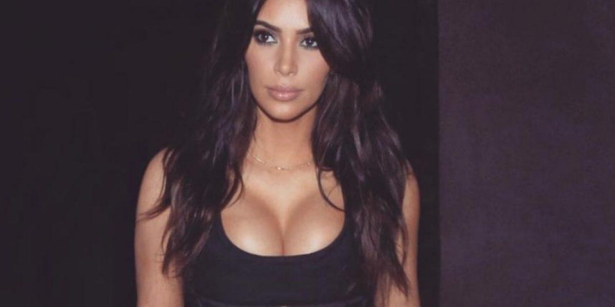 Kim Kardashian sigue bajando de peso y presume su minicintura