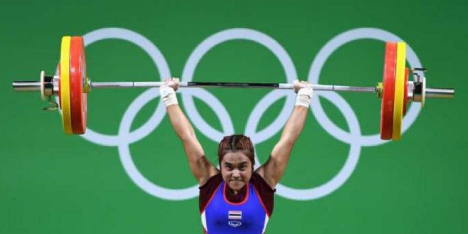 Sopita Tanasan – Atleta tailandésa. Foto:Getty Images. Imagen Por: