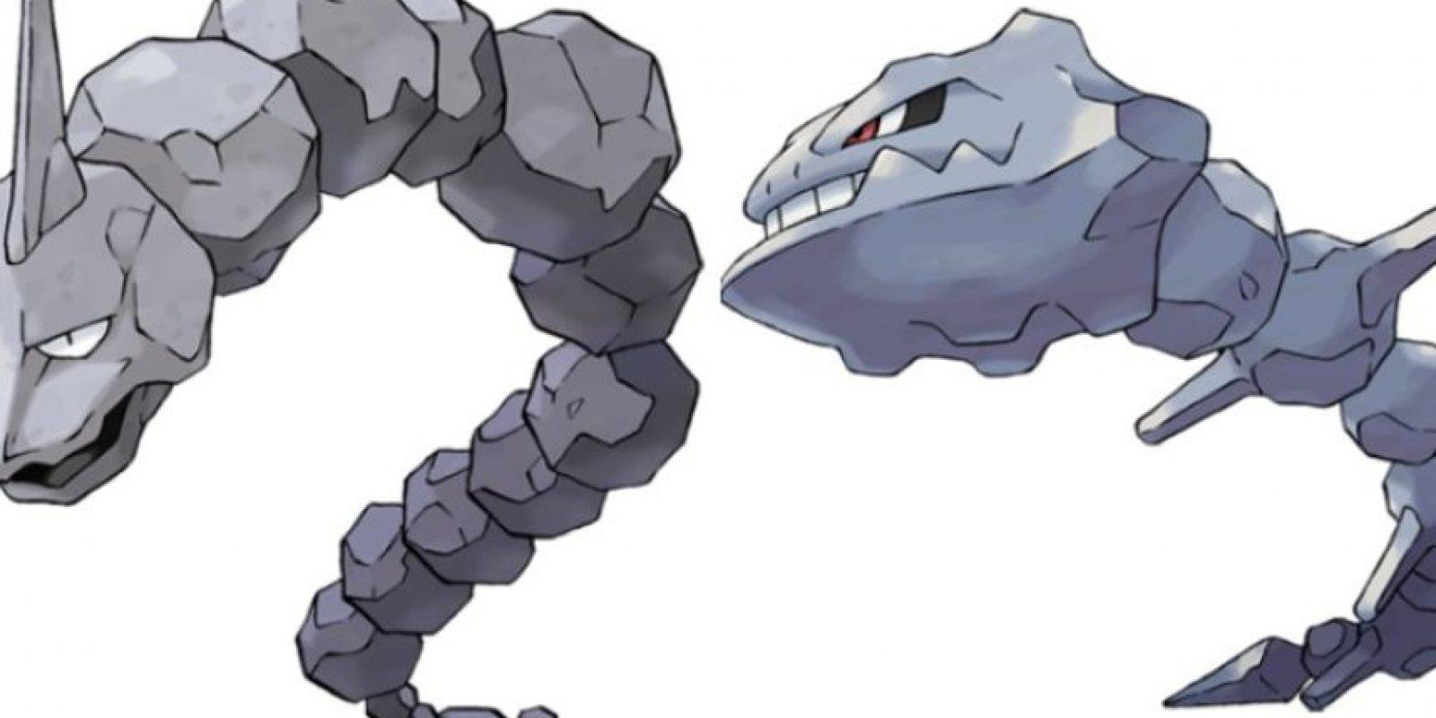 Onix – Steelix. Foto:Pokémon / Nintendo. Imagen Por: