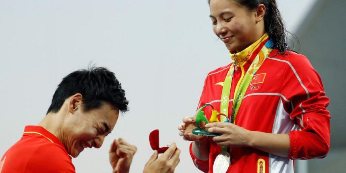 Atleta gana medalla de plata y le proponen matrimonio en Río 2016