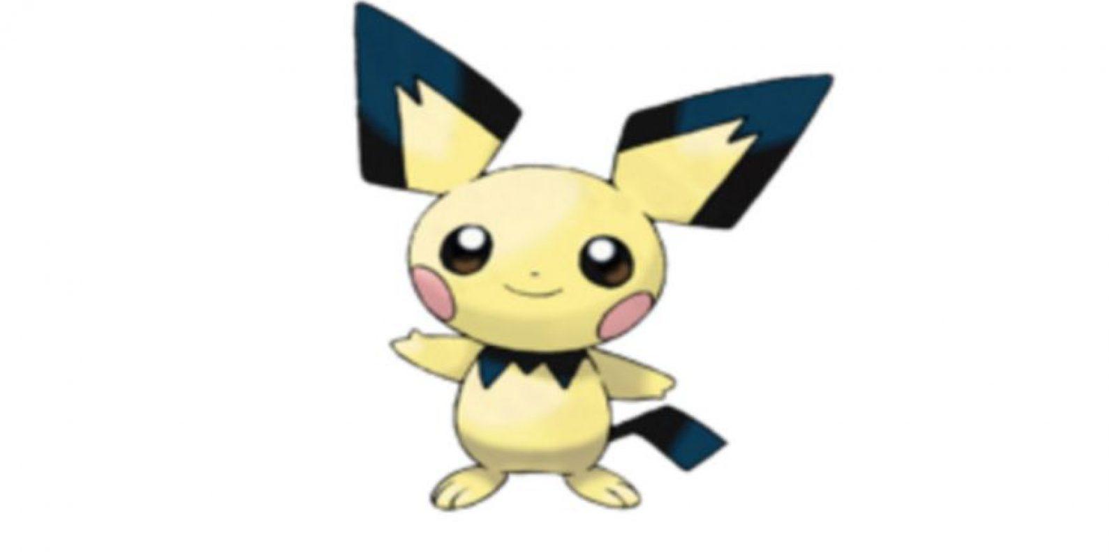 ¡Pichu! Foto:Wiki Pokémon. Imagen Por: