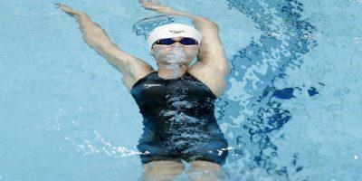 Aunque Fu ya había ganado el metal de bronce en 100 metros espalda femenino Foto:Getty Images. Imagen Por: