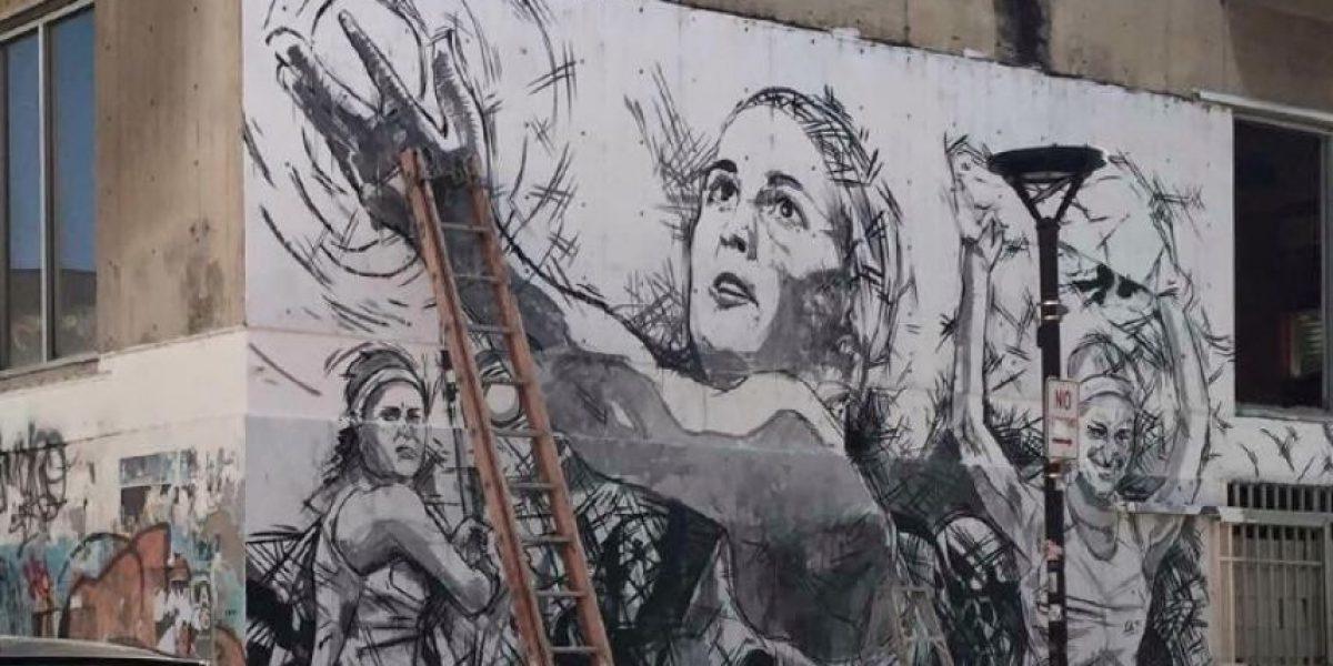 Más murales en honor a Mónica Puig