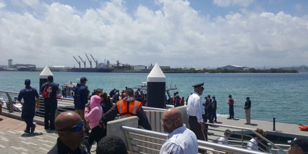FOTOS - Controlado incendio en el ferry en altamar